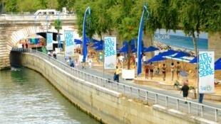 O Paris Plages vai abrigar um evento em homenagem a Tel Aviv