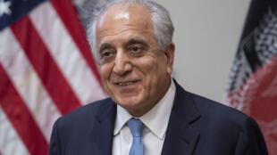 Đặc phái viên Mỹ về Afghanistan, ông Zalmay Khalilzad, trong một cuộc hội thảo tại Washington DC ngày 08/02/2019.