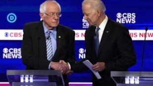 Depois da Superterça, a briga se acirra entre Joe Biden e Bernie Sanders