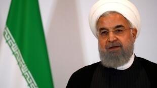 Hassan Rohani, o Presidente do Irão.