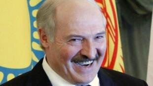 Belarus' President Alexander Lukashenko attends the Eurasian Union Summit in Moscow 19 March 2012