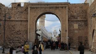 Dans un marché de la vieille ville de Tripoli, en Libye, le 16 janvier 2020.