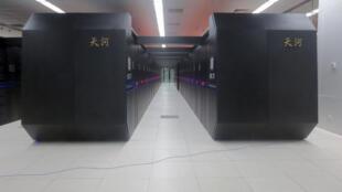 Tianhe2, l'un des deux ordinateurs les plus puissants du monde, est d'origine chinoise.