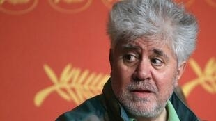 Pedro Almodovar in Cannes in 2016