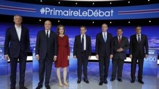 Os sete candidatos das primárias