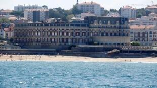 Khách sạn Cung điện (L'Hôtel du Palais) nơi diễn ra thượng đỉnh G7 ở Biarritz, từ ngày 24 đến 26/08/2019.