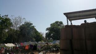 La Minusca protège les camps de déplacés à Birao, le 6 novembre 2019.