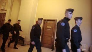 Заседание прошло в парижском Дворце правосудия