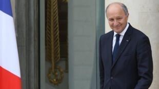 El canciller francés, Laurent Fabius.