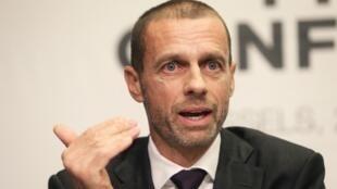 Shugaban hukumar UEFA Aleksander Ceferin.