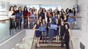 Ganadoras de la edición 2016, en total, 30 becas L'Oréal-UNESCO fueron otorgadas.