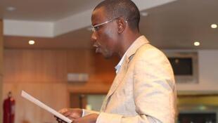 O escritor e poeta angolano,  David Capelenguela