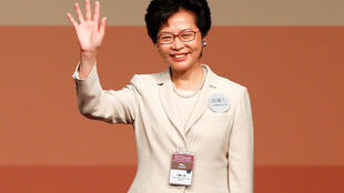 香港新当选特首林郑月娥