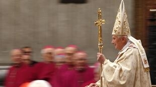 Pope Benedict XVI delivered his Christmas message at the Vatican