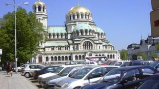 Sofia, capitale de la Bulgarie.