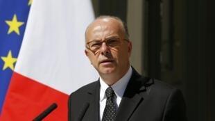 French Interior Minister Bernard Cazeneuve, August 2015
