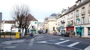 Chateau-Thierry's town centre