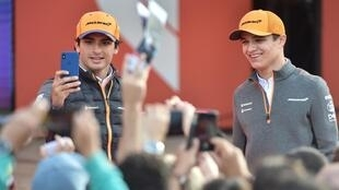 McLaren's Carlos Sainz Jr (left) and Lando Norris (right) have taken voluntary pay cuts amid Formula One's coronavirus crisis