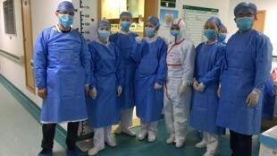 武漢中心醫院2020年1月25日
