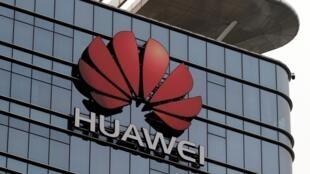 Trụ sở tập đoàn Hoa Vi (Huawei) ở Đông Quản, tỉnh Quảng Đông, Trung Quốc. Ảnh chụp ngày 25/03/2019.