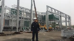 O engenheiro civil baiano José Costa trabalha entre Xangai e a Antártica.