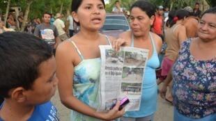 La sociedad civil denuncia conflictos por desalojo de tierras.