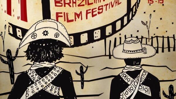 Cartaz do Hollywood Brazilian Film Festival de 2019.