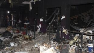 Boate Kiss, em Santa Maria (RS) ficou destruída após incêndio.