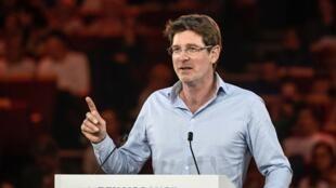 L'écologiste Pascal Canfin, réélu au Parlement européen sur la liste Renaissance portée par La République en marche, le 30 mars 2019.