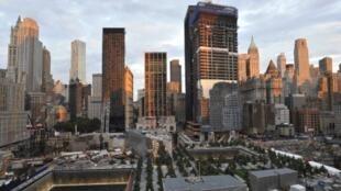 Le mémorial de Ground Zero, construit à l'emplacement exact des deux tours du World Trade Center
