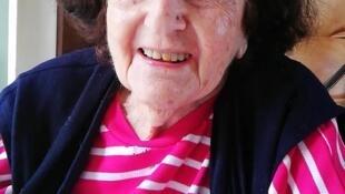 Gerti Burian, sobrevivente do Holocausto.