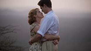Claire Foy and Andrew Garfield star in 'Breathe' the opening film at the 29th Dinard Film Festival, 2018