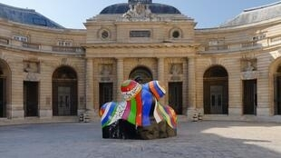 The first exhibition at the revamped Monnaie de Paris is Women House with Niki de Saint-Phalle Nana-Maison II