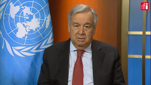 Antonio Guterres, speaking to RFI and its sister TV channel, France 24.