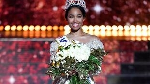 Clémence Botino from Guadeloupe claimed the Miss France 2020 beauty contest.