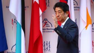 Tại thượng đỉnh ASEM, thủ tướng Nhật gia tăng sức ép đòi Trung Quốc tôn trọng phán quyết của Tòa Trọng Tài Thường Trực về Biển Đông.