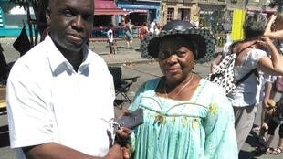 Pauline Mbiada, promotrice de l'ONG Visages d'Afrique, représentante de l'antenne camerounaise de l'association Handicapés sans frontières à Yaoundé.