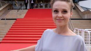 La cinéaste polonaise Marta Pajek est avec « /// » en lice pour la Palme d'or des courts métrages au Festival de Cannes 2018.