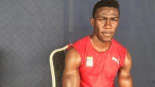 Le Gabonais Franck Mombey.