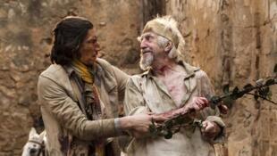 Adam Driver et Jonathan Pryce dans «L'Homme qui tua Don Quichotte», du réalisateur Terry Gilliam.