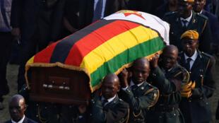 Cerimónias fúnebres de Robert Mugabe, ex-presidente do Zimbabué, após a sua morte a 11 de setembro.
