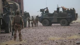 Les soldats français en pleine opération dans le Gourma.