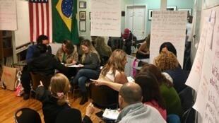 O Brazilian Worker Center, o Centro do Trabalhador Brasileiro, organização comunitária que tem como lema apoiar os brasileiros da região metropolitana da Grande Boston, nos Estados Unidos.
