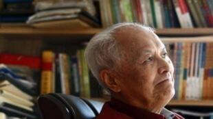 資料圖片:前中共中央組織部常務副部長李銳