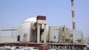 Lò phản ứng hạt nhân chính tại Bushehr, cách Teheran (Iran) 1.200 km về phía nam. Ảnh chụp ngày 21/08/2010.