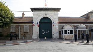 Nhà tù Fresne, ngoại ô Paris, ảnh chụp ngày 20/09/2020.