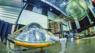 Le module Schiaparelli de l'Agence spatiale européenne a tenté de se poser sur Mars mercredi 19 octobre.