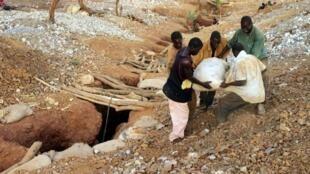 Des chercheurs d'or près de Bagassi (photo d'illustration).