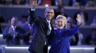 رئیس جمهوری آمریکا، باراک اوباما، روز چهارشنبه در مجمع ملّی حزب دموکرات در فیلادلفیا هموطنان خود را به گزینش هیلاری کلینتون به عنوان رئیس جمهوری آیندۀ آمریکا دعوت کرد