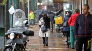 Dans une rue de Téhéran (image d'illustration).